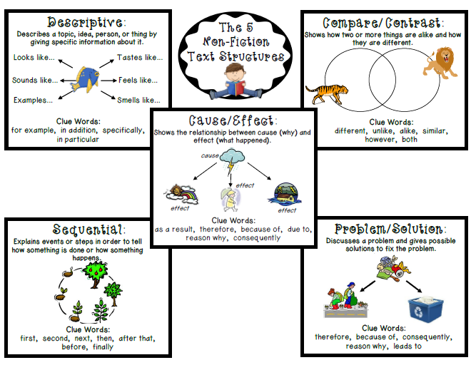 Text Structures on Non Fiction Text Structures